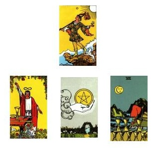 Tarot Reading for 1-2-2011
