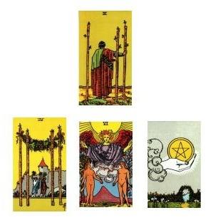 Tarot Reading 1-04-11