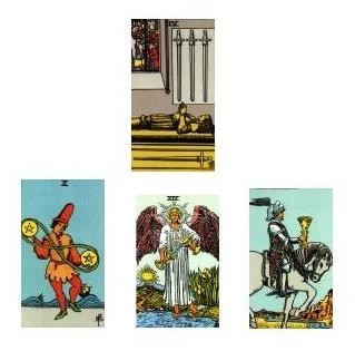 Tarot reading 1-5-11