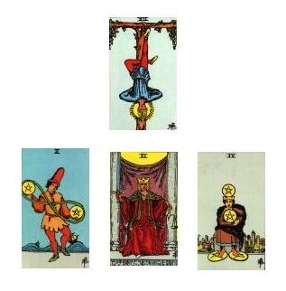 Tarot spread 01-07-11