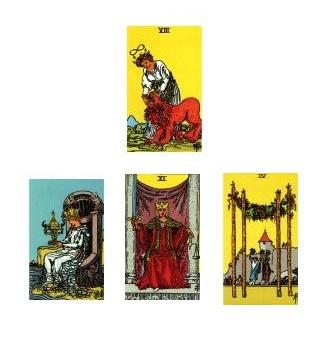 Tarot reading 01-08-11