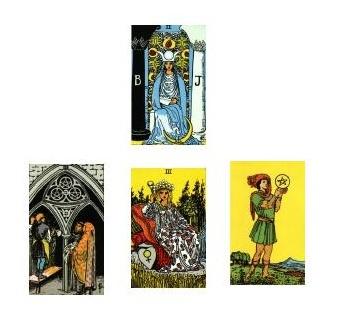 Tarot reading 1-11-11