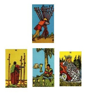 Tarot reading 1-12-11d
