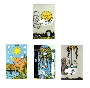 Tarot reading 1-18-11