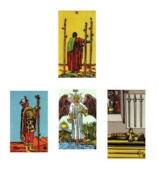 Tarot reading 1-21-11