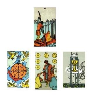 Tarot reading 1-25-11