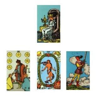Tarot reading 1-26-11