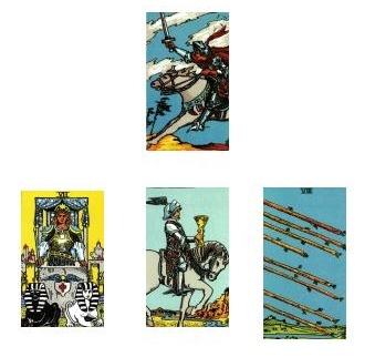 Rider-Waite Tarot 1-28-11