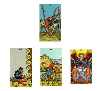 Rider-Waite Tarot reading