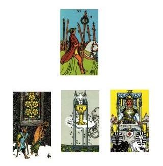 Rider-Waite Tarot  2-6-11
