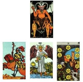 Tarot reading 12-22-10