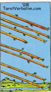 Eight of Wands